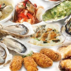 人気のカキメニュー12品が食べ放題  オイスターバーの「テーブルオーダーバイキング」