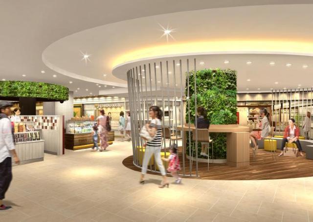 心斎橋オーパ地下2階がリニューアル 全国初出店含む11店舗がオープン