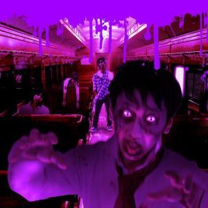 【鉄道ファン】てっぱく貸しきりで遊ぶ「大宮ハロウィンフェス2016」 車内からゾンビが襲う