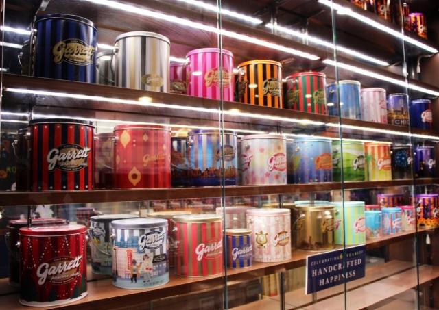 ギャレットの歴代ポップコーン缶が一斉にお披露目 人気缶も復活へ!