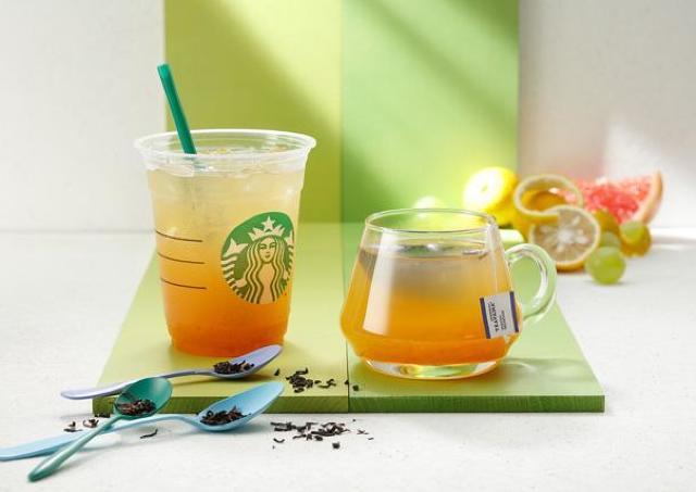 スタバの紅茶が変わる! 新ブランドの第1弾は「ゆず シトラス&ティー」