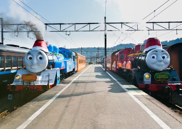 きかんしゃトーマス号でメリクリ! 大井川鐵道で「クリスマス特別運転」予約始まるよ