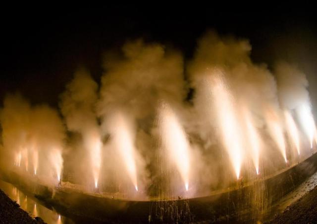 静岡市内最大級の手筒花火大会 「一色天満宮例大祭」