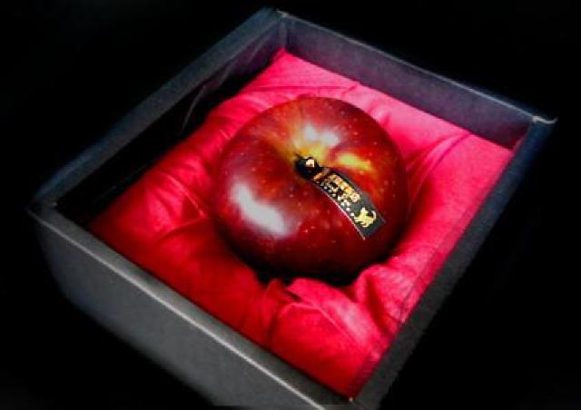 愛の願掛けつき「毒リンゴ」 ハロウィンの恋愛成就にいかが?