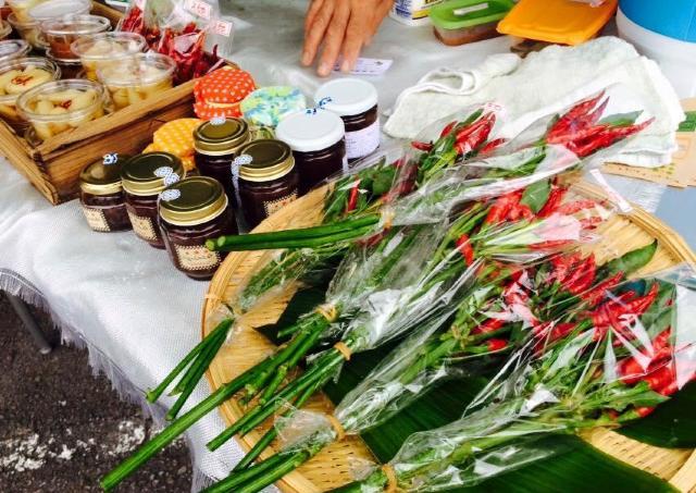 新鮮な地場野菜やオーガニック食品が揃う「れんげじオーガニックマーケット」
