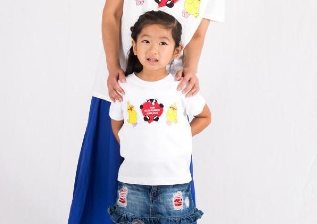ドコモのポインコとくまモンがコラボ 熊本地震チャリティーTシャツ発売中!
