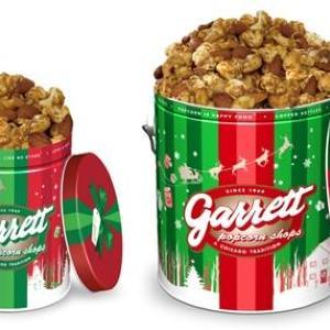 3種のナッツとキャラメルの贅沢なハーモニー ギャレットの2016Xmas缶登場!