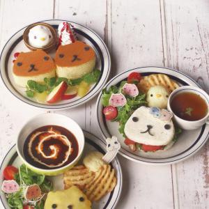 「HANDS CAFE」にカピバラさんの特設カフェ ごはんもデザートもカピバラさんだらけ~