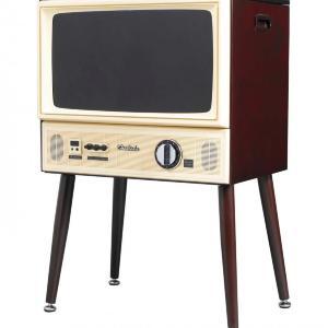 「ちょっとチャンネル回してーーー」 本当に映るレトロな「20型テレビ」、買えます!