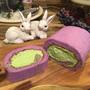 ニコラハウスのラベンダー香るロールケーキ 食べられるのはこれが最後!