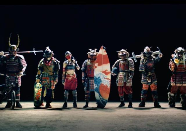 世界を沸かせたカップヌードルのSAMURAI CM! 新作の「7 SAMURAI」が公開!