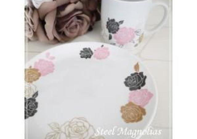 好きな色柄の陶器を作れる「ポーセラーツ」を体験しよう!