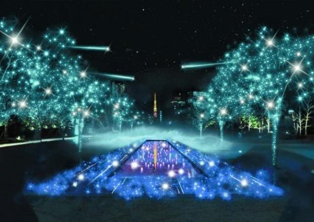 品川に新たなイルミスポット誕生 「願いの鐘」が響くと夜空に流れ星が......