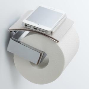 これは便利! トイレットペーパーホルダーがスマホの「ちょい置場」に変身するグッズ