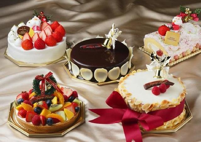 琵琶湖ホテルでXmas ホテルメイドのクリスマスケーキでお祝い