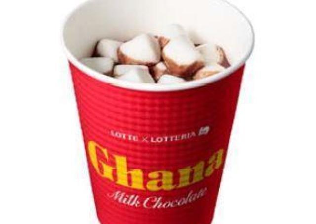 お待たせ! ロッテリアで人気の「ガーナホットチョコレート」販売再開