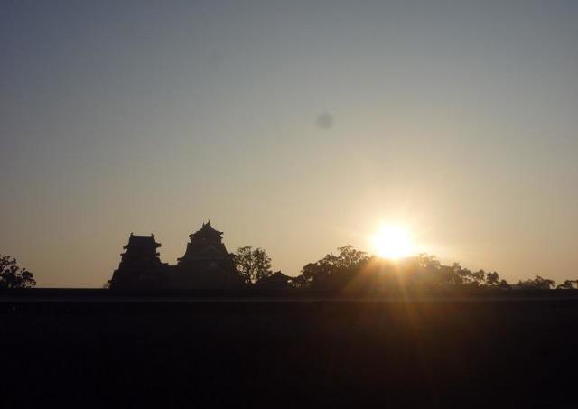 熊本城で新しい年を迎えよう