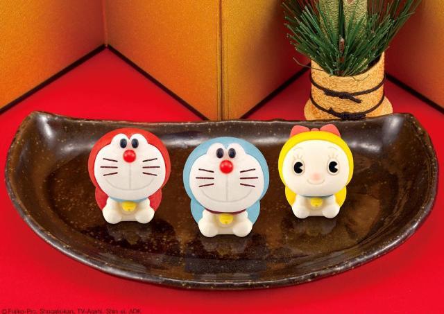 ドラえもん練りきりにドラミ登場! かわいすぎる和菓子で和やかな年末年始に