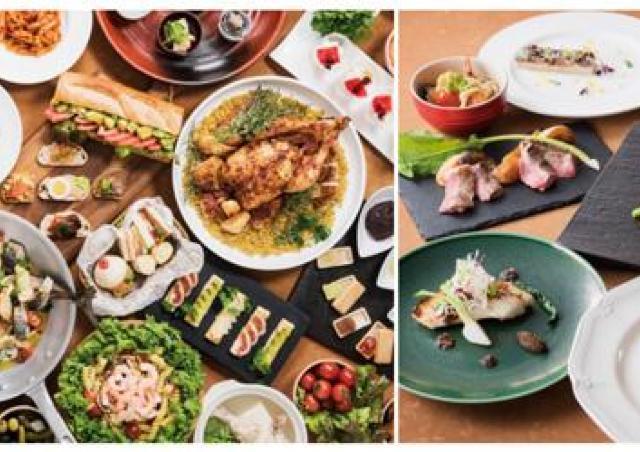 ランチは鉄板焼や天ぷら ディナーは創作フレンチ 開業35周年グルメバイキング