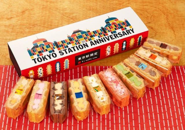 お土産にぴったり! エール・エルから東京駅102周年を記念したワッフルセット
