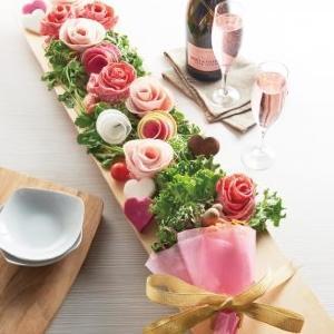 肉ブーケですと...!? 「しゃぶしゃぶ温野菜」六本木店限定のバレンタイン