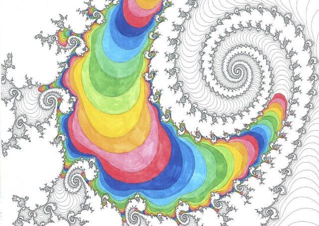 あなたはもう知っているか? 大人を刺激する「世界一美しい数学塗り絵」