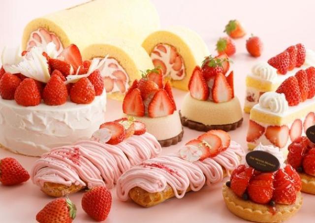長崎県産3種のイチゴをたっぷり スイーツ&ドリンク