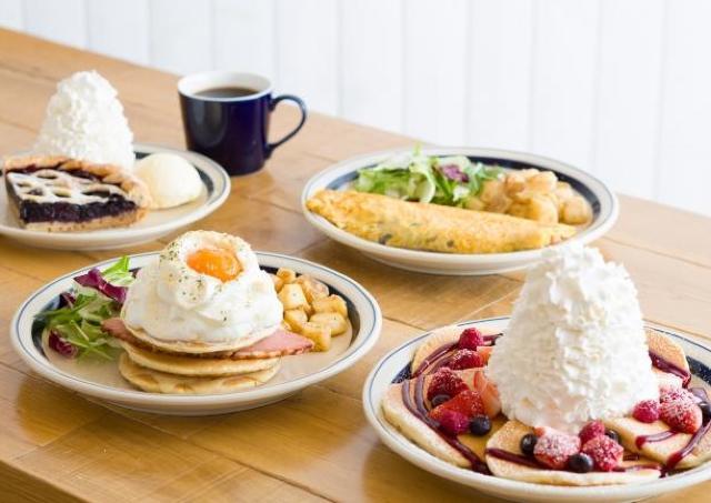初の大学キャンパス内店舗「Eggs 'n Things 梅田茶屋町店」オープン!店舗限定メニューもあるよ