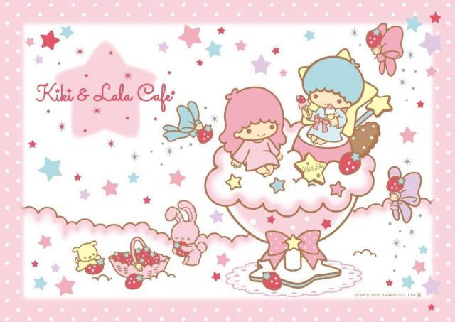 ニューオープンのコラボカフェにキキ&ララが登場!