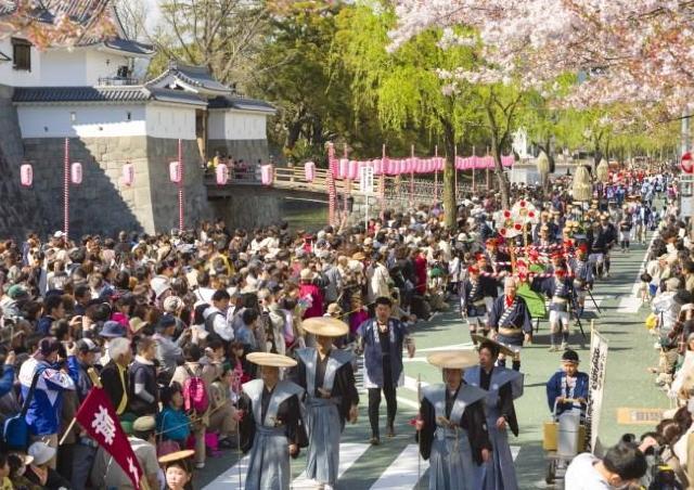 桜の花の季節に静岡がアツくなる!