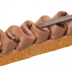 「ラ・メゾン・デュ・ショコラ」から美しいショコラタルト ニュウマン新宿店限定で販売へ