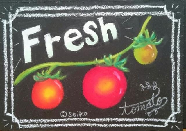 宮城の食材をチョークアートで表現するワークショップ開催