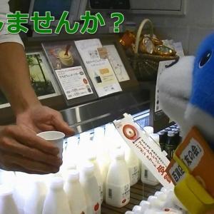 【動画】カス丸、デパ地下にハマる