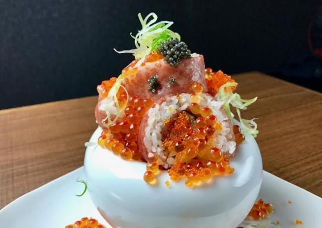 コレステロール万歳! 豪華すぎるロール寿司その名も「コレステ★ロール」