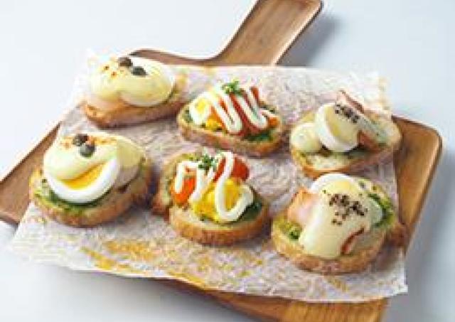 イースターにちなんだタマゴ料理を堪能! キユーピーコラボ企画