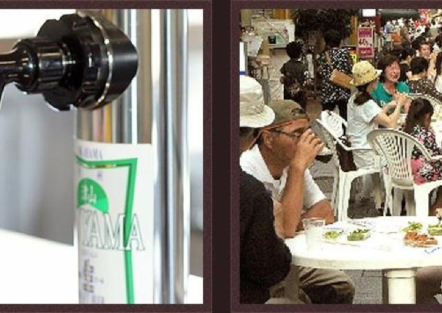 しぼりたて原酒の販売も 毎年恒例の「地ビール祭り」開催