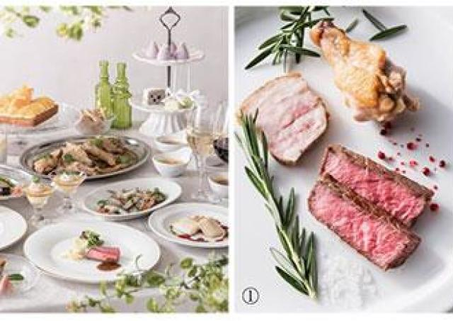 「ジャパネスクスタイル」のフレンチを... 肉豊富な夏ビュッフェ