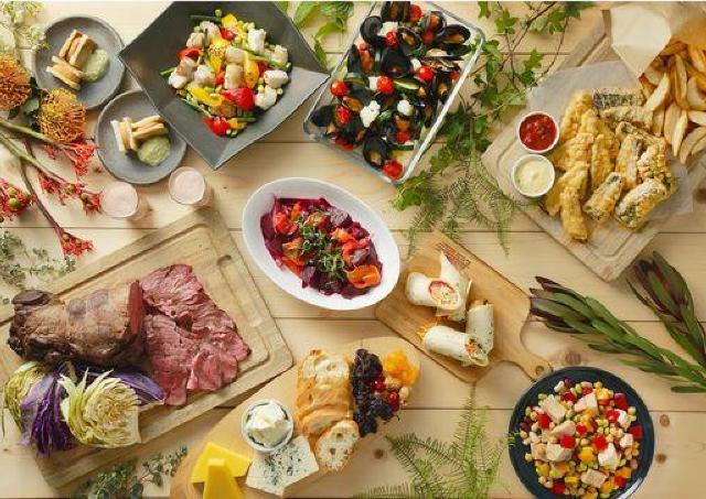 カンガルーやワニの肉料理も! 「オーストラリア&ニュージーランドビュッフェ」