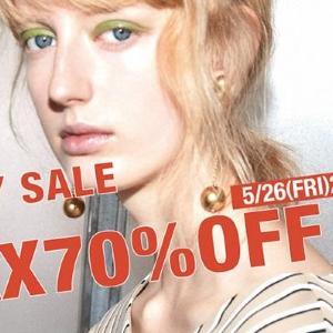 人気ブランドが最大70%オフ MIX.Tokyoで会員限定ファミリーセール