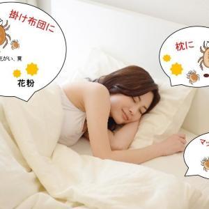 ダニと「添い寝」してるって知ってた? 今から使いたい寝具ケアアイテム