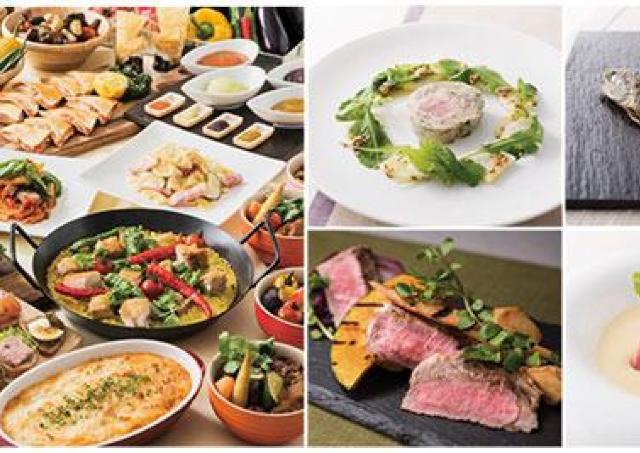 8種の料理がテーブルオーダー制で食べ放題!京都新阪急ホテルのバイキング企画