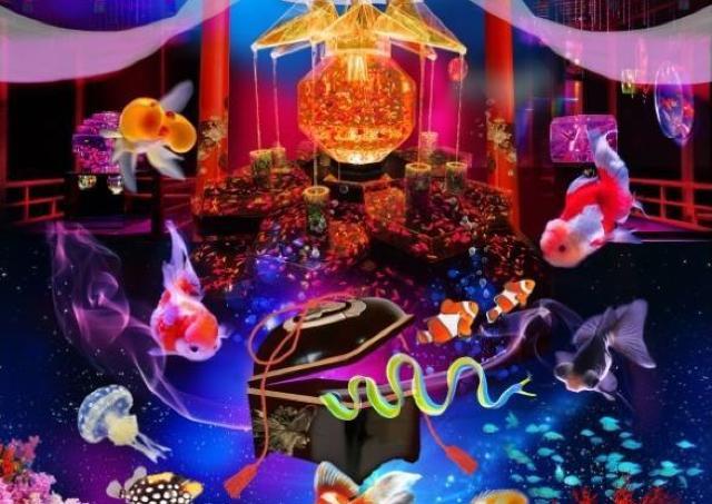 8000匹の金魚が舞い踊る 「アートアクアリウム」今年も開催