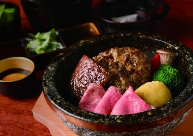 神楽坂に「翔山亭」のハンバーグ専門店 厳選肉バーグを1000円から