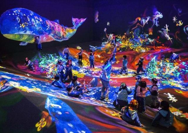 チームラボの大規模展覧会を体感せよ 渋谷ヒカリエで今夏開催