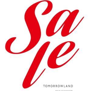 WEBショップはいち早くスタート! 「TOMORROWLAND」がセール開催