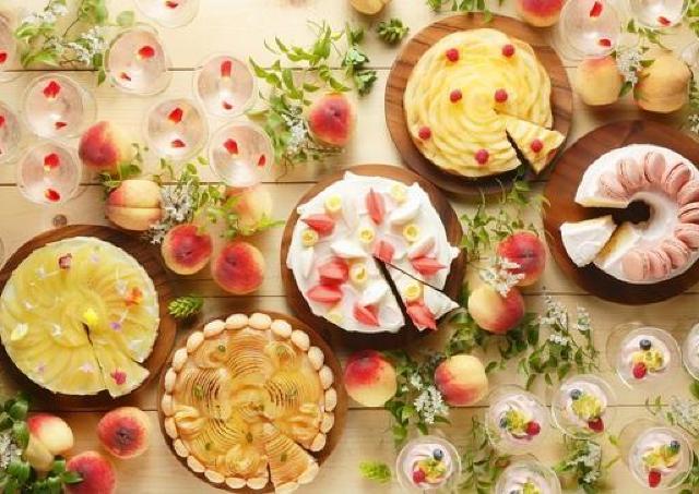 桃好き集まれ! 桃の香り漂う贅沢スイーツビュッフェ