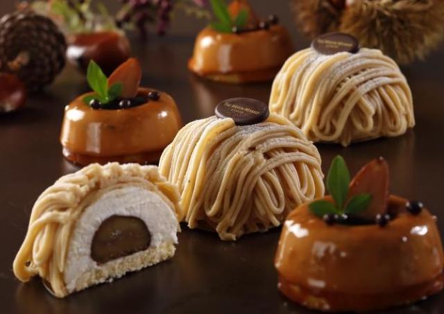ケーキごとに栗が違う! ウェスティンで味わう贅沢マロンスイーツ