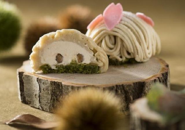 桜の名所「天保山」を表現! 「みなトクモン」認定モンブランケーキ