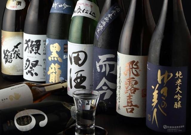3000円で時間無制限とは!  獺祭ありの日本酒飲み放題イベント