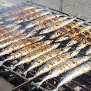 炭火焼き秋刀魚、3333人に無料提供! 東京タワーで恒例イベント
